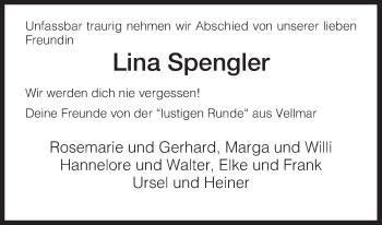 Zur Gedenkseite von Lina