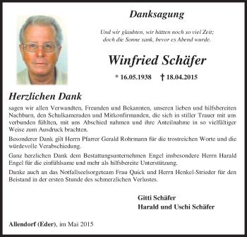 Zur Gedenkseite von Winfried