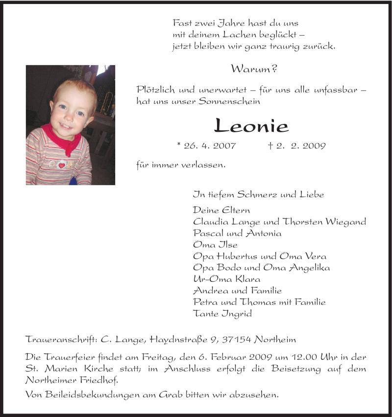 Leonie aus torgelow
