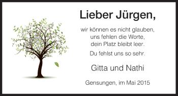 Zur Gedenkseite von Jürgen