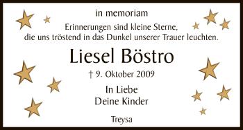 Zur Gedenkseite von Liesel