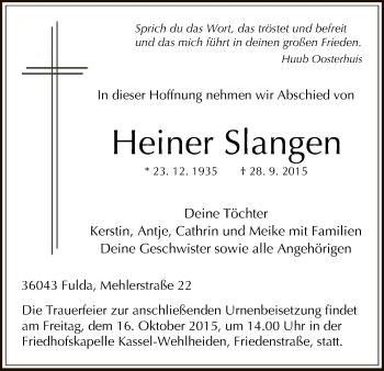 Zur Gedenkseite von Heiner