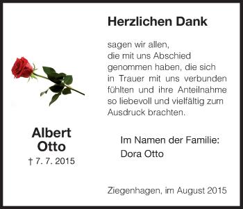 Zur Gedenkseite von Albert